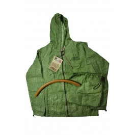 VINTAGE RAIN JACKET - BRIGHT GREEN  - NEW PRODUCT !