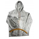 VINTAGE RAIN JACKET - GRAY - NEW PRODUCT !