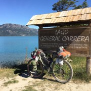 Il Vento fra le Ruote - Patagonia cycling tour with Cerchio Ghisallo wooden wheelset